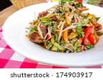 fried noodle asian food on the... | Shutterstock . vector #174903917
