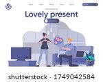 lovely present landing page...