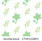summer theme in vibrant and... | Shutterstock .eps vector #1749122891