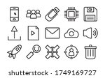 speaker and user interface icon ...