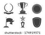 recognition badges set vector... | Shutterstock . vector #174919571