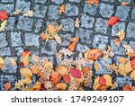 Autumn Abstract Background Of...