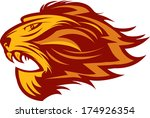 lion head   Shutterstock . vector #174926354