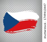 flag of czech republic from...