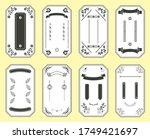 illustration of japanese frame... | Shutterstock .eps vector #1749421697