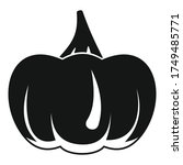 evil pumpkin icon. simple...   Shutterstock .eps vector #1749485771