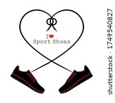 A Pair Of Sneakers And A Heart...