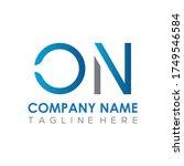 initial simple letter on logo... | Shutterstock .eps vector #1749546584