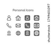 Icons For Resumes  Bussines...