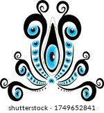 different patterns created from ...   Shutterstock .eps vector #1749652841