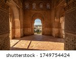 View From An Arabic Window  Of...