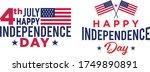 united states flag. vector... | Shutterstock .eps vector #1749890891