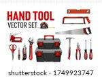 hand tool vector set for...   Shutterstock .eps vector #1749923747