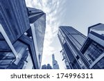 hong kong urban landscape ... | Shutterstock . vector #174996311