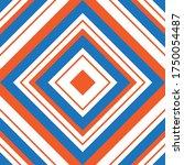 orange argyle diagonal striped... | Shutterstock .eps vector #1750054487