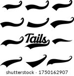 fonts tail  extra part of fonts ... | Shutterstock .eps vector #1750162907