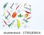 cooking ingredients  various... | Shutterstock . vector #1750183814