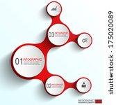 infographics vector design... | Shutterstock .eps vector #175020089