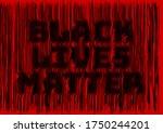 black lives matter 3d rendering ...   Shutterstock . vector #1750244201