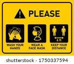 horizontal instruction... | Shutterstock .eps vector #1750337594