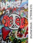 prague  czech republic  ... | Shutterstock . vector #175036151