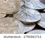 Set Of American Silver Eagle...