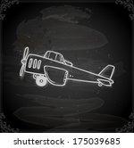 cute hand drawn vector...   Shutterstock .eps vector #175039685