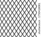 seamless netting texture.... | Shutterstock .eps vector #1750418081