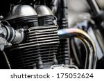 Motorcycle Engine Head With...