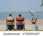 senior couple spending time... | Shutterstock . vector #1750554107