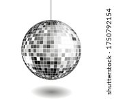 disco ball isolated... | Shutterstock .eps vector #1750792154