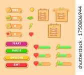 game ui wood kit set. user...