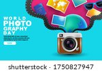 world photography day   event   ... | Shutterstock .eps vector #1750827947