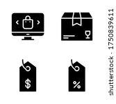 sales icon set   shopping...