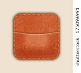 natural leather pocket or...