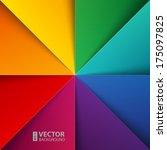 infographics rainbow colorful...