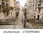 Stairs To Montmartre In Paris ...