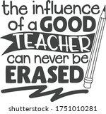 The Influence Of A Good Teacher ...