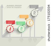 abstract infographics. vector... | Shutterstock .eps vector #175102034