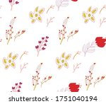 seamless background image with... | Shutterstock .eps vector #1751040194