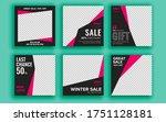 set of sale banner template... | Shutterstock .eps vector #1751128181