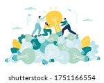 business concept vector... | Shutterstock .eps vector #1751166554