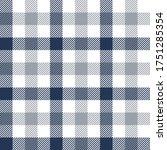Gingham Pattern In Blue  Grey ...