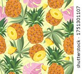 Seamless Pattern With Fresh...