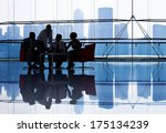 large group of business people... | Shutterstock . vector #175134239
