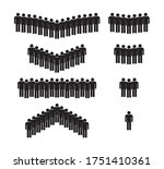 icon of people. group of male...   Shutterstock .eps vector #1751410361