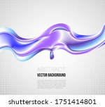 abstract blue violet glittering ...   Shutterstock .eps vector #1751414801