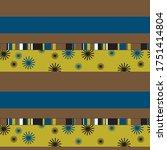 seamless geometric pattern...   Shutterstock .eps vector #1751414804