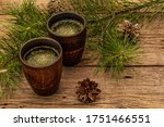Pine Needle Tea  Sollip Cha ...
