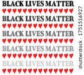 black lives matter text vector...   Shutterstock .eps vector #1751516927